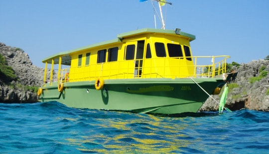 Dive Boat In Thailand For Snorkeling
