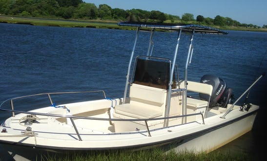 Old Lyme, Ct. 18' Parker Center Console For Charter