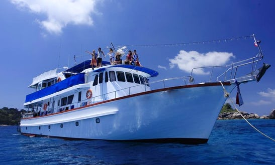 M / V Orange Blue Dive Boat In Khao Lak