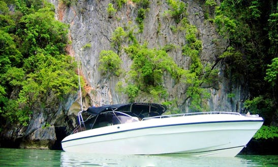 Rent Powerboat 'lady Sarojin' In Tambon Khuekkhak