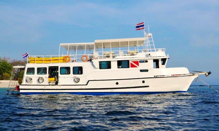 MV Andaman Seafarer in Khalong Sok