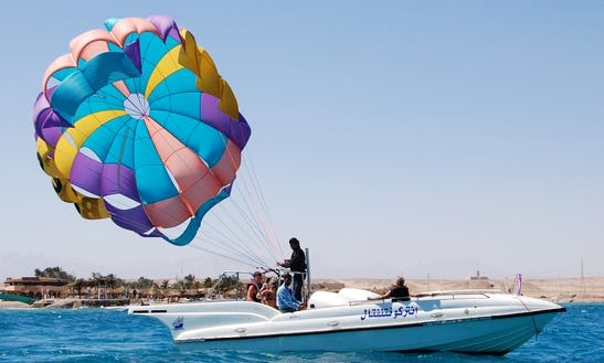 Exciting Parasailing Adventure In Red Sea Governorate, Egypt