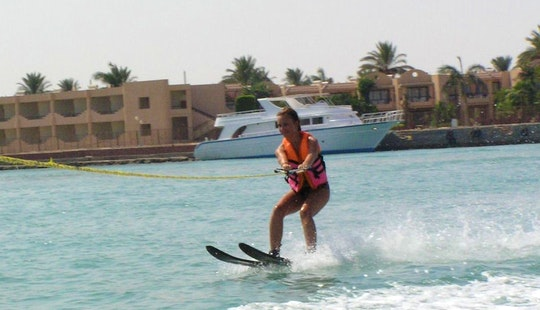 Book 15-minutes Water Skiing Adventure In Red Sea Governorate, Egypt