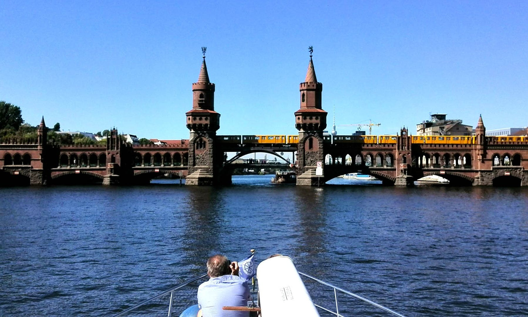 Private City Tours on 43ft Motor Yacht with Skipper and Crew in Berlin, Germany