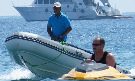 Rent 4 Person Rigid Inflatable Boat In Red Sea Governorate, Egypt For Your Next Water Adventure!