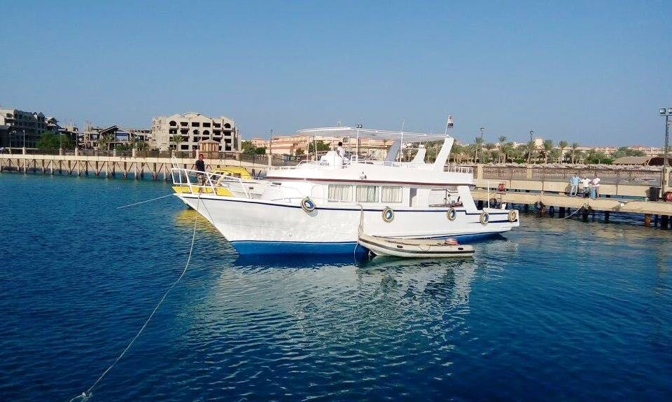 Enjoy the Red Sea Governorate, Egypt by a Boat Charter