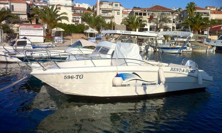 Fiart Mare Oasi Boat Charter in Okrug Gornji