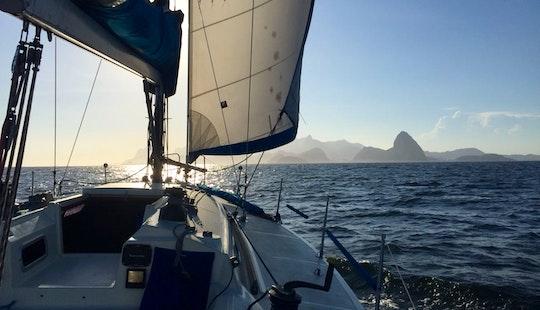 Enjoy A Sailing Day On A Cruising Monohull In Rio De Janeiro