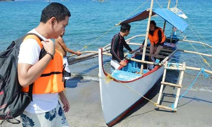 Island Hopping on Traditional Boat in Zambales, Philippines