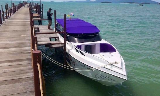 See Beautiful Ko Samui, Thailand, By Passenger Boat