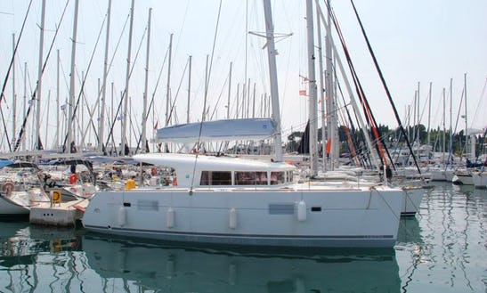 Experience Another Level Of Sailing Holiday In Split, Croatia Aboard 40' Cruising Catamaran