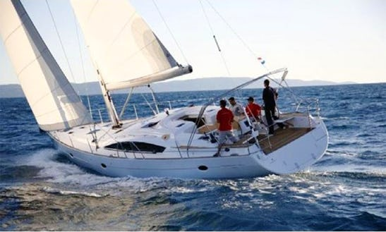 A Perfect Sailing Holiday On The Awesome Croatian Sea Aboard Elan Impression 514 Sailboat
