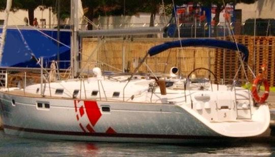 Charter The 46ft Beneteau Oceanis In Barcelona, Spain