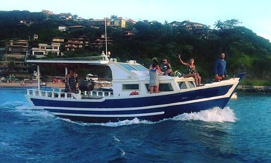 Rent This 10 To 20 Passengers Tour Boat In Armação Dos Búzios