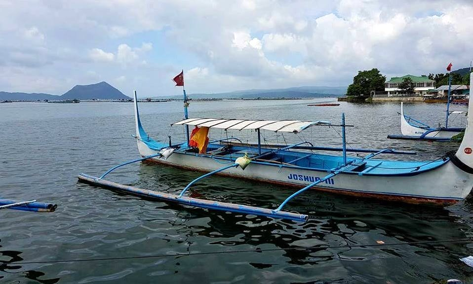 Charter a Traditional Boat in Talisay, Batangas