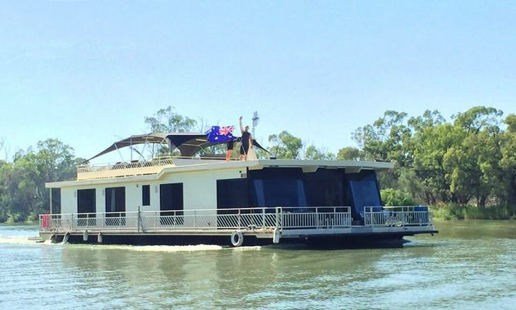 Hire 66' Houseboat for up to 10 people in Paringa, Australia