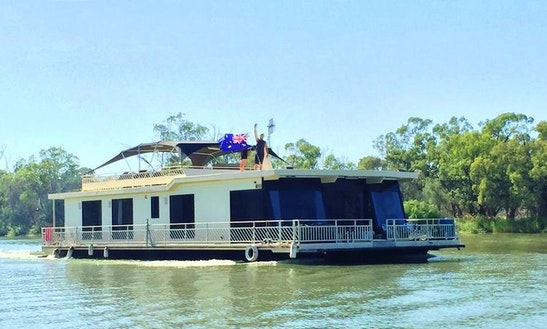 Hire 66' Class Act Houseboat In Paringa, Australia