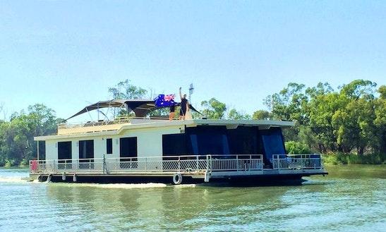 Hire 66' Class Act Houseboat In Paringa, Australia