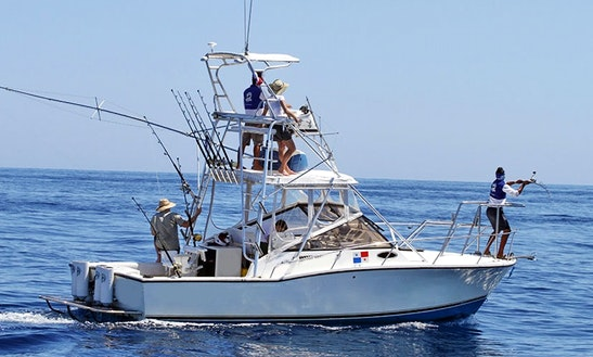Memorable Fishing Trip On 28ft Classic Express Half Tower In Panama