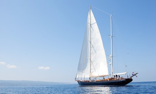 Cruise In Style With This 7 Person Luxury Gulet In Split, Croatia