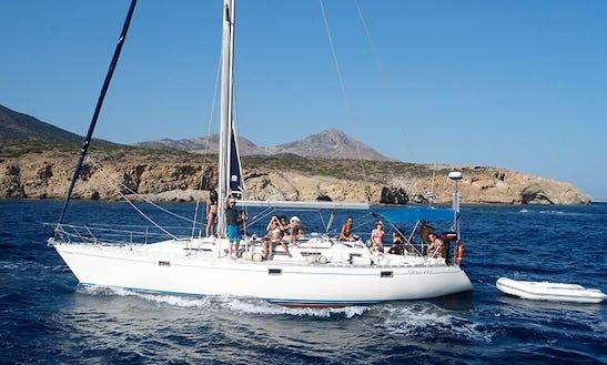 Charter 42' Policos Cruising Monohull In Adamas, Greece