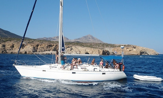 Charter 42' Policos Cruising Monohull In Adamas, Greece