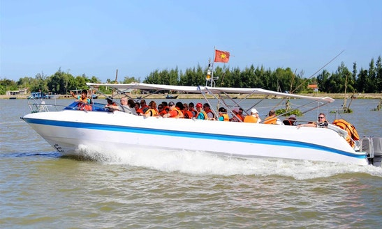Charter A 36 People Boat In Thành Phố Hội An, Vietnam