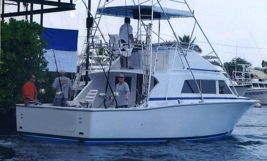 33' Sportfishing Yacht Charter In Hawaii