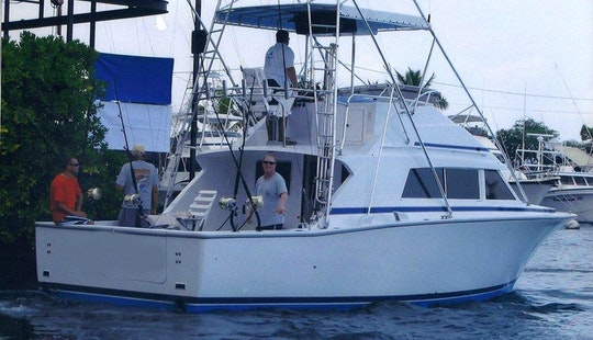 33' Sportfishing Yacht Charter In Hawaii