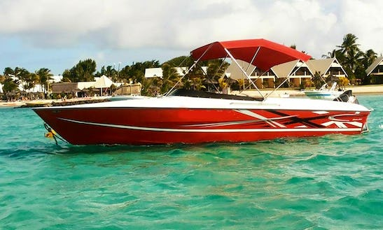Bowrider Rental In Mahebourg, Mauritius For Up To 15 Passengers