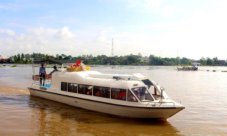Dive in the Culture of Vietnam on a Passenger Boat in Đào Hữu Cảnh, Vietnam