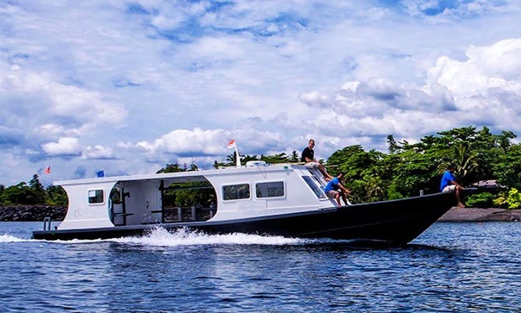 Charter a Motor Yacht for Diving in Kalawat, Indonesia
