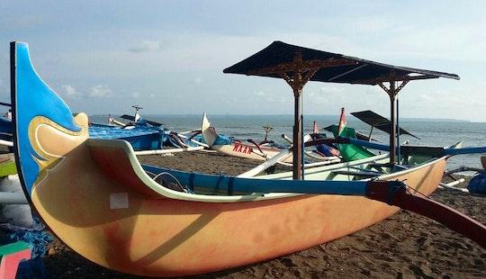 Charter Bali Revandra Traditional Boat In Mengwi, Bali