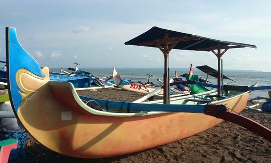 Charter Bali Revandra Traditional Boat In Mengwi, Bali