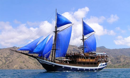 Phinisi Buginese Schooner For Charter In Indonesia