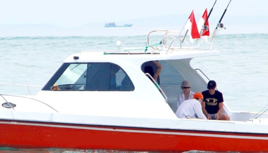 Bali Fishing Charter For 10 Person Ready To Book!