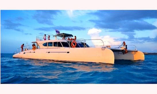 71' Luxury Sailing Catamaran In Ko Samui