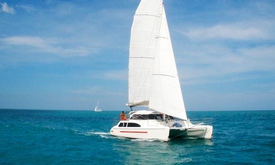 33' Cruising Catamaran Charter In Ko Samui