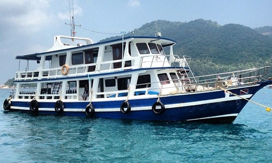 Mv Aow Muang (passenger Boat) In Phuket