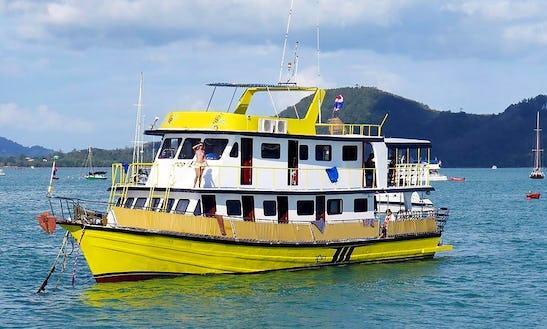 Mv Marco Polo Motor Yacht In Tambon Ao Nang, Thailand