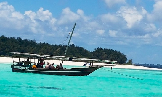 Authentic Fishing Charter In Zanzibar, Tanzania On A Local Traditional Boat