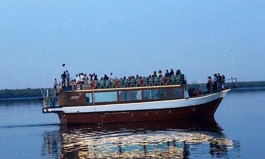 Charter Legacy Passenger Boat In Karachi, Pakistan