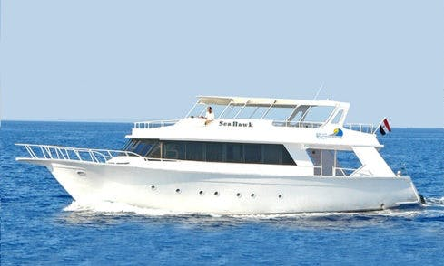 Charter Sea Hawk Motor Yacht in South Sinai Governorate, Egypt