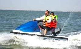 $90 a half hour to ride and rent this Jet Ski in Karachi, Pakistan