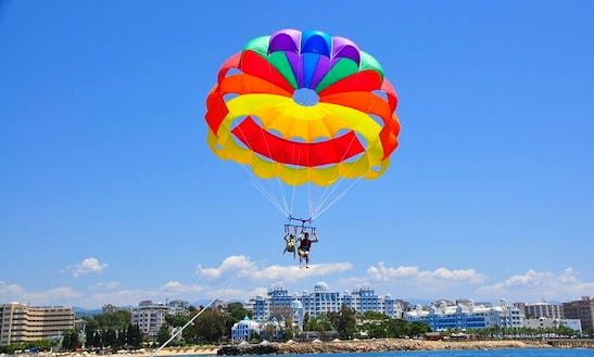 Have Fun In Antalya, Turkey On A Parasailing Ride