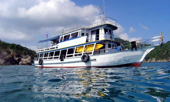 M/v Seastar Trawler Boat Diving In Thailand, Ko Tao