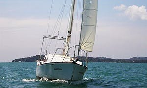 Hartley Tasman 28' Private Sailing Yacht Charter in Ko Tao