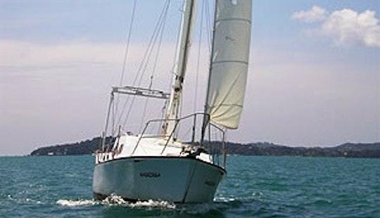 Hartley Tasman 28' Private Sailing Yacht Charter In Ko Tao