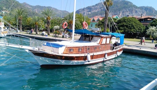 Take This 6 Person Gulet Out In Muğla, Turkey