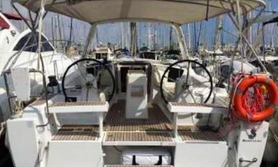 Charter Beneteau Oceanis 35 Sailboat In Cambrils, Spain